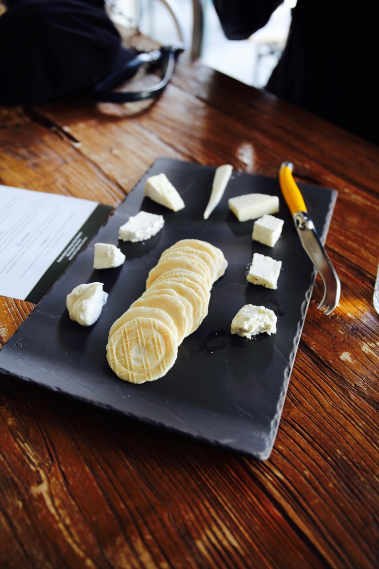 Cheese- Goat's cheese plater (1)