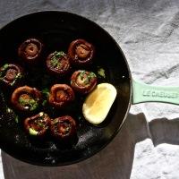 Escargot Style Mushrooms