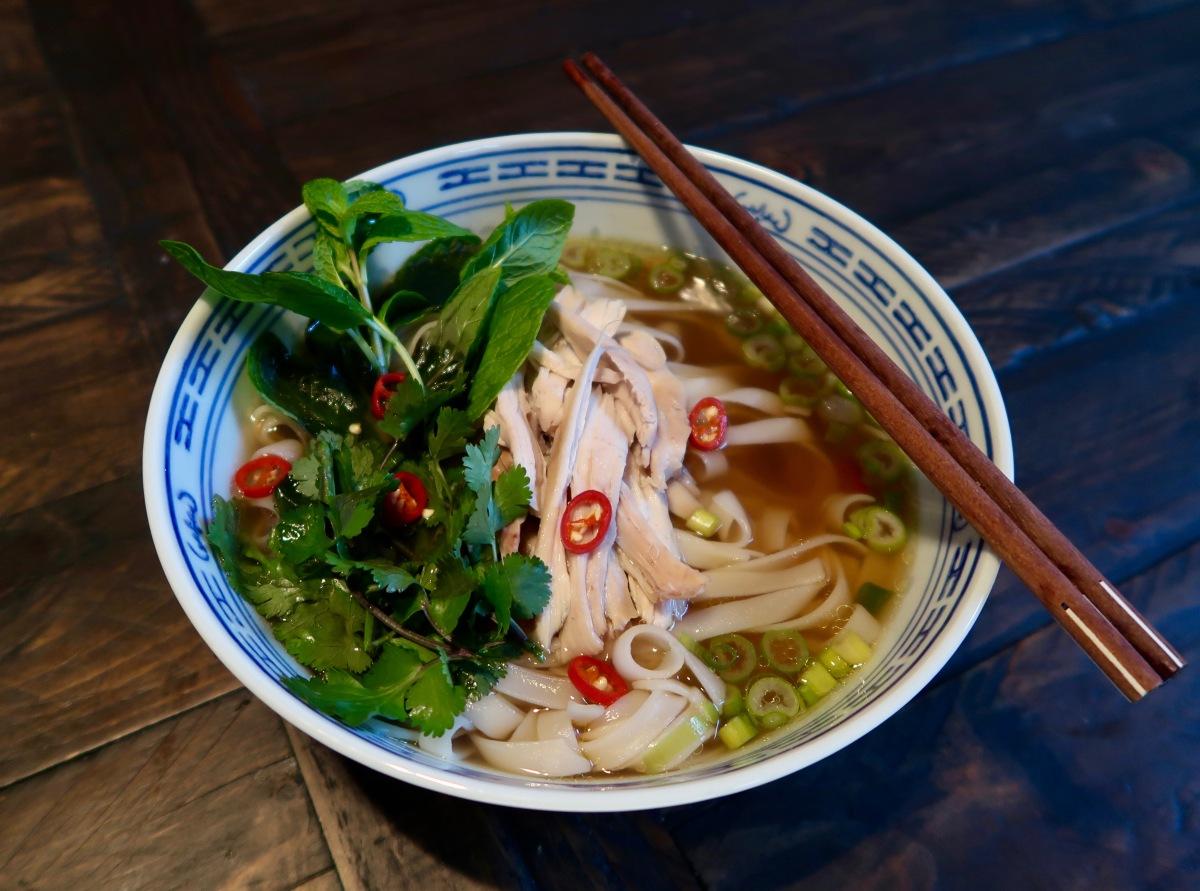 Vietnamese Chicken Pho (phở gà)