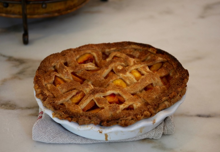 Perfect Peach Pie Whole
