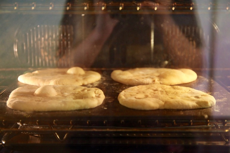 Flat Breads-In oven Flat