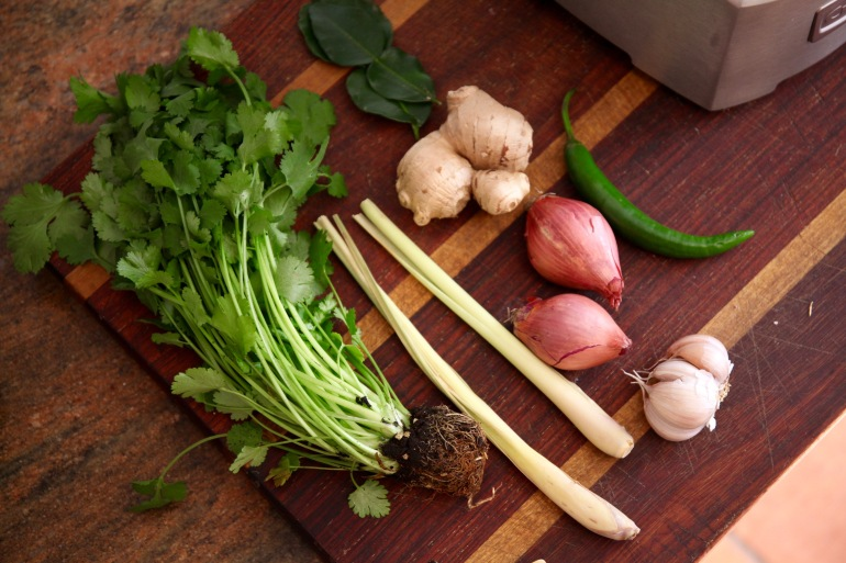 Thai Green Curry Paste- ingredients