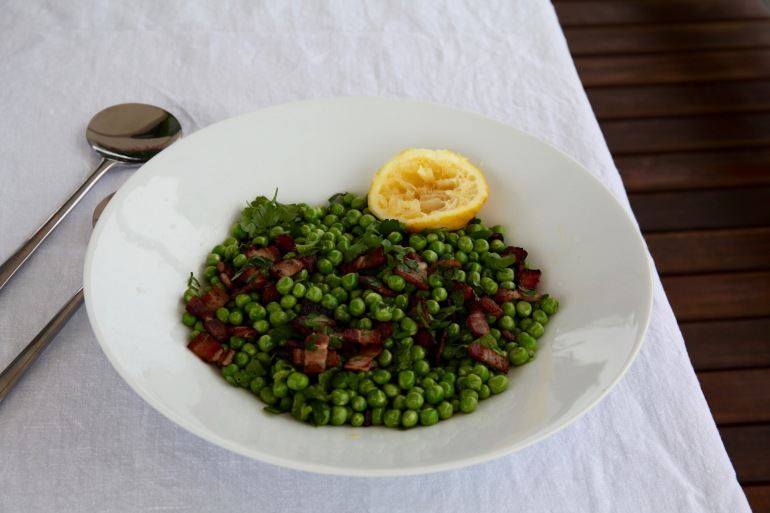 Sunday-Pea and Bacon Salad