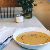 Curried Sweet Potato & Coconut Soup