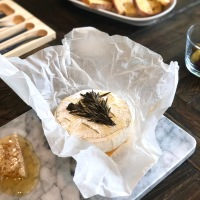 Baked Camembert with Rosemary & Honey